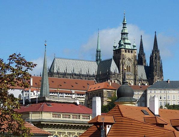 Prague Dom Old Town Czech Republic Church Ecclesia
