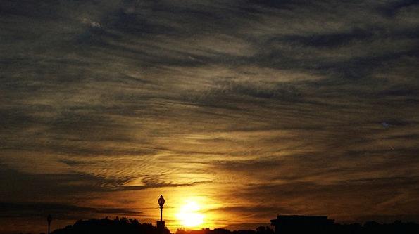 Sunset Sundown Vacation Travel Cloud Mist Evening