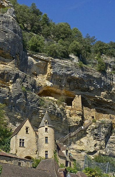Dordogne Troglodytes Cavemen Cave Dwellers Rock Pi