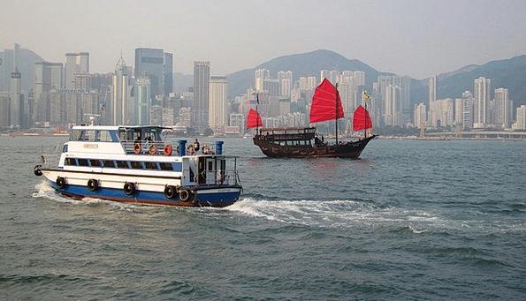 Ferry Riverview Hong Kong Ship Vessel