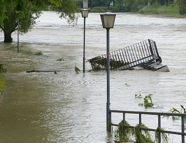 High Water Traffic Street Transportation Gone Down