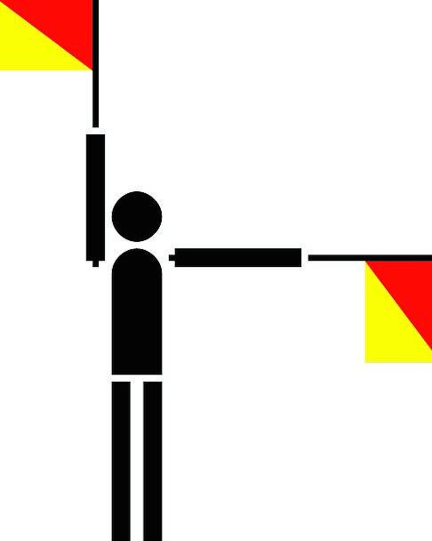 Semaphore Standard Symbols Ciphers Flag Communicat