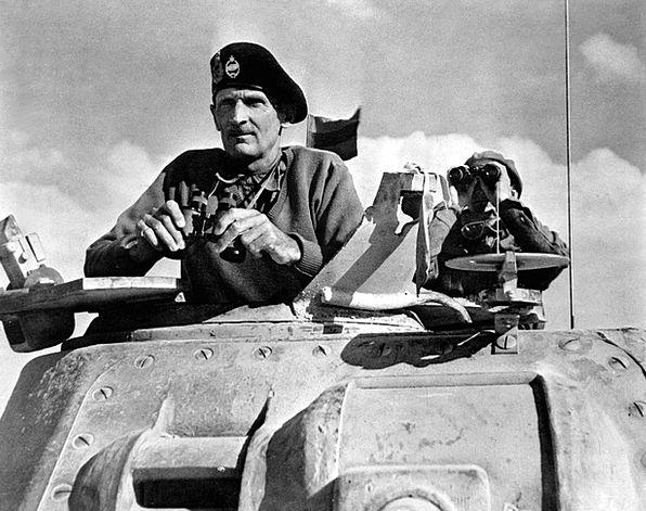 War Conflict Bernard L Montgomery World War Ii 194