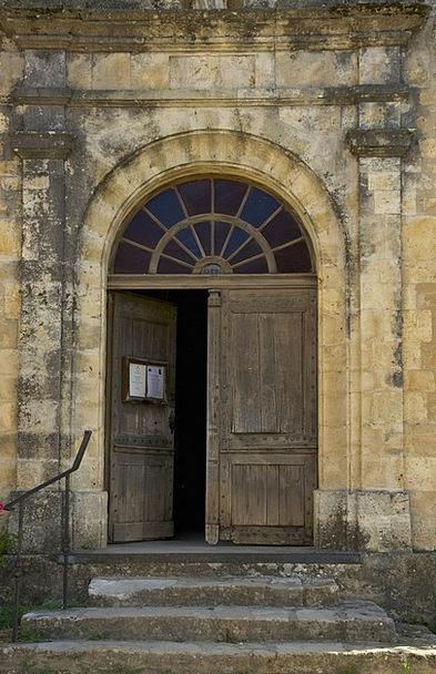 Dordogne Church Ecclesiastical France Wooden Build