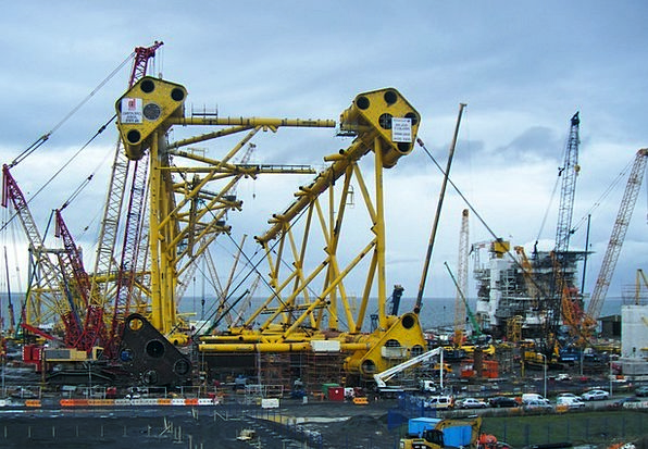 Solan Project Dockyard Oil Rig Shipyard Fife Energ