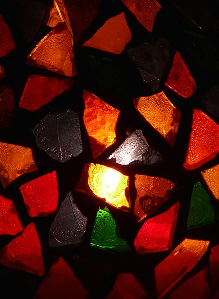 Glass Cut-glass Interesting Light Bright Colorful