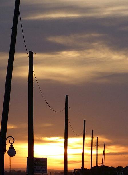 Sunset Sundown Vacation Travel Abendstimmung Power