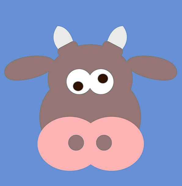 Cow Intimidate Foolish Animal Physical Crazy Free