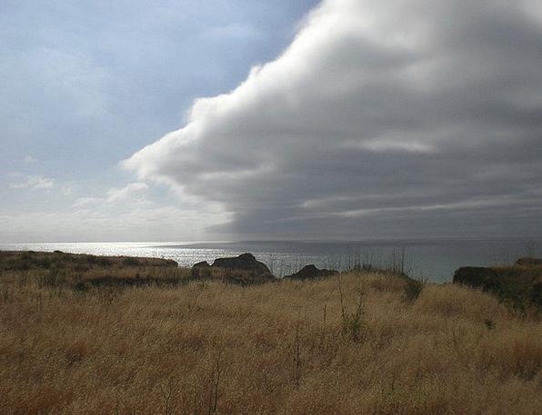 California Shore Weather Climate Coast Clouds Vapo