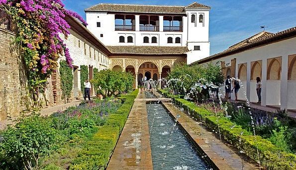 Alhambra gardens generalife garden ftempo for Busch gardens ez pay phone number