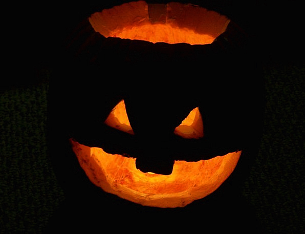 Pumpkin Jack-O-Lantern Halloween Haunted Holiday B