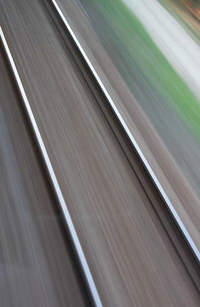 Blurred Blurry Traffic Gesture Transportation Rail