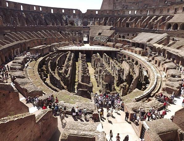 Rome Azis Colosseum Romans Weltwunder Roman Gladia