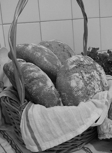 Bread Cash Drink Bag Food Loaves Basket Vegetarian