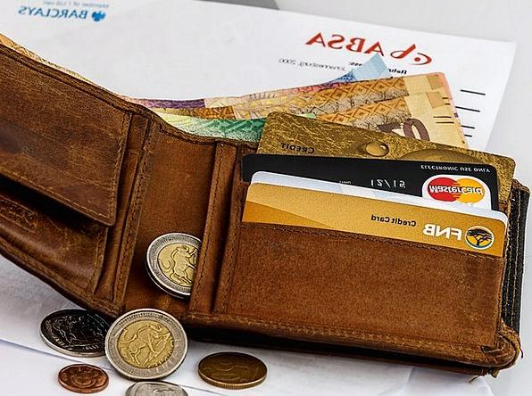 Wallet Folder Finance Business Cash Credit Card Bu