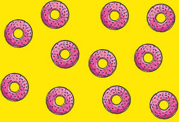 Background Contextual Textures Backgrounds Donuts
