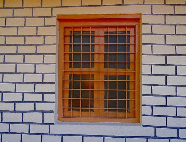 Window Gap Wall Partition Rpli Brick Element Patte