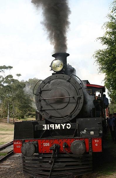 Gympie Vapor Train Pullman Steam Rattler