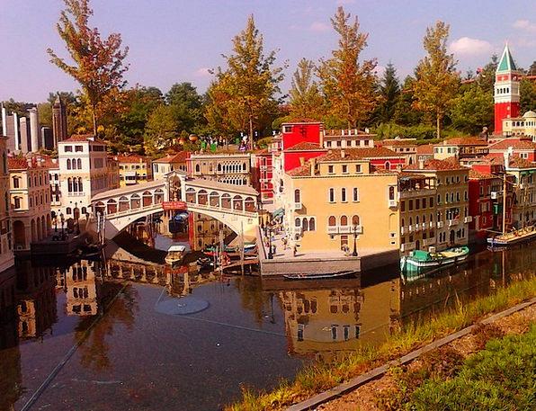 Legoland Funfair Lego Theme Park Venice Ego Lego B