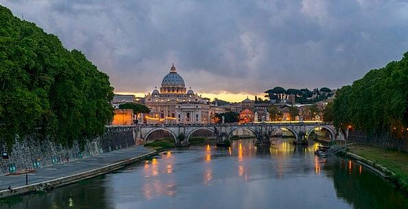 Bridge Bond Buildings Architecture Rome Sant' Ange