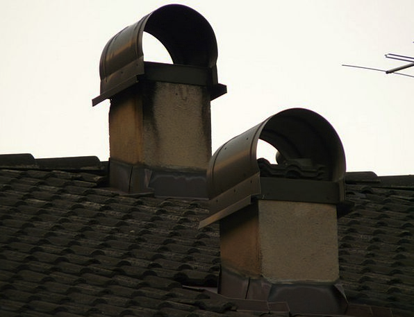 Chimney Funnel Hearth Roof Rooftop Fireplace