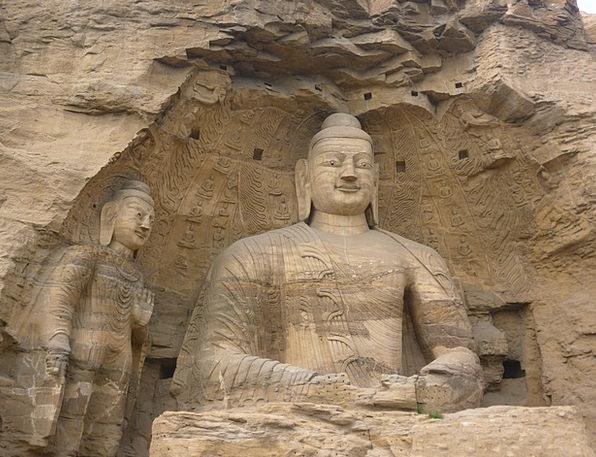 Big Buddha Carving Model The Yungang Grottoes