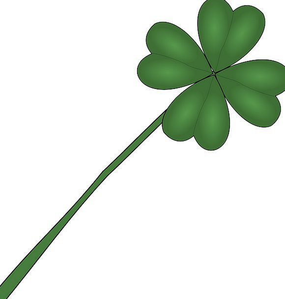Four-Leaf Clover Landscapes Vegetable Nature Luck