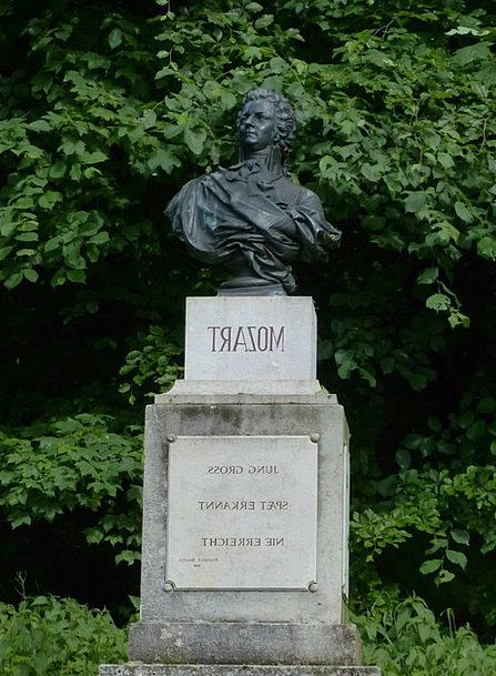 Mozart Buildings Figurine Architecture Monument Me