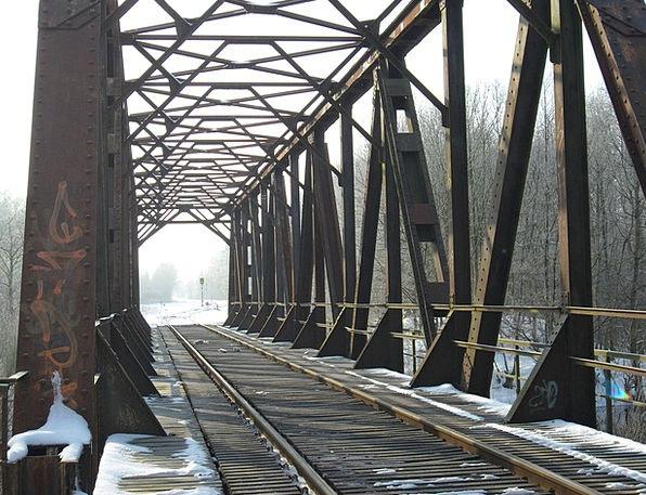 Railway Monuments Bond Places History Past Bridge