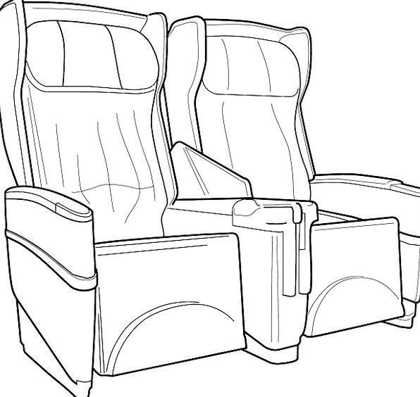 Seat Traffic Transportation Aircraft Airplane Free