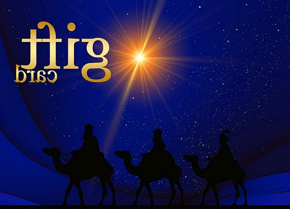 Gift Talent Coupon Voucher Holy Three Kings Gift T