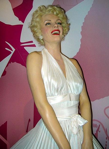Marilyn Monroe Fashion Beauty Actor Performer Wax