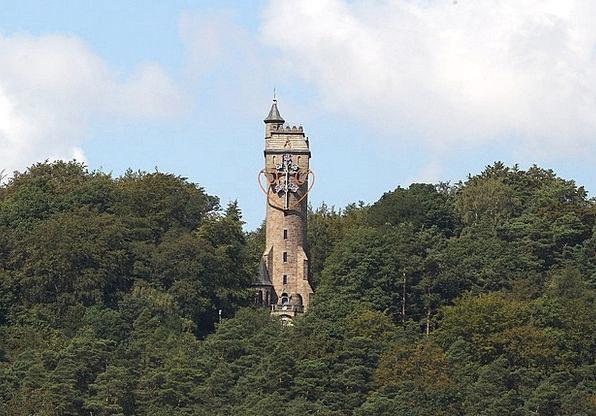 Kaiser Wilhelm Turm Observation Tower Mirror Pleas