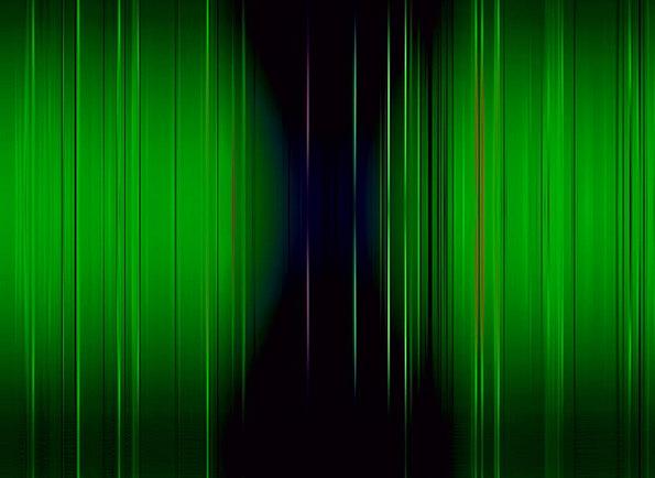 Psychedelic Hallucinogenic Textures Lime Backgroun