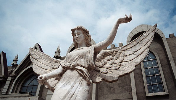 Sculpture Statue Seraph Christianity Angel Sacred