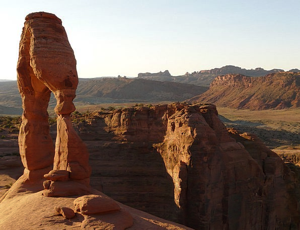 Delicate Arch Usa Arches National Park Utah Moab S