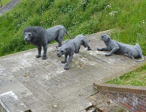 Lion Buildings Building Architecture Sculpture Sta