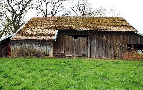 Barn Outbuilding Scheuer Hay Barn Agriculture Farm