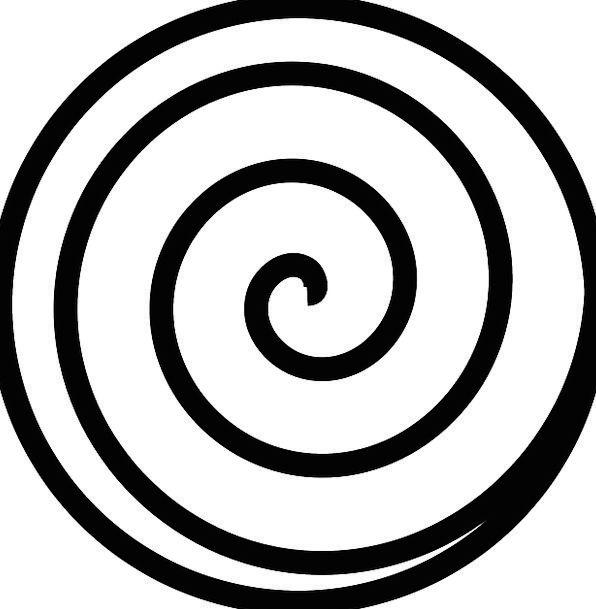 Spiral Twisting Path Round Rotund Track Maze Labyr
