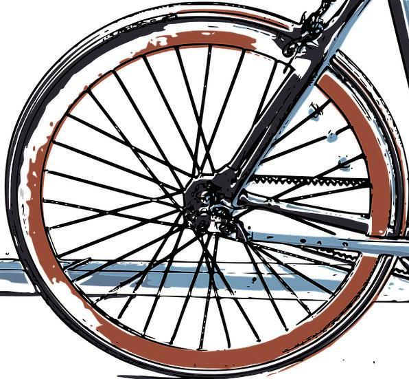 Tire Exhaust Bike Motorbike Bike Tire Bicycle Cycl
