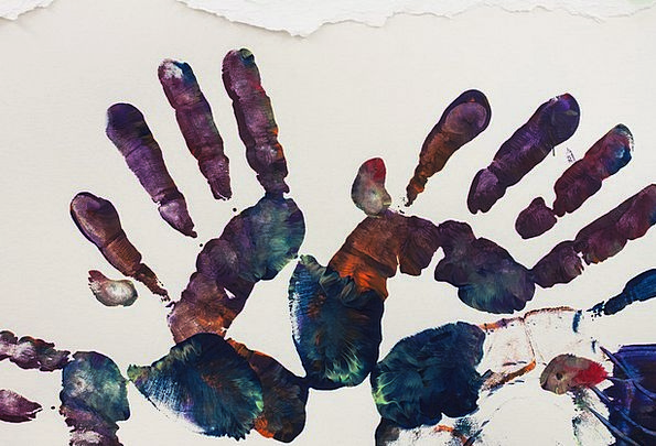 Art Therapy Textures Pointer Backgrounds Hands Poi