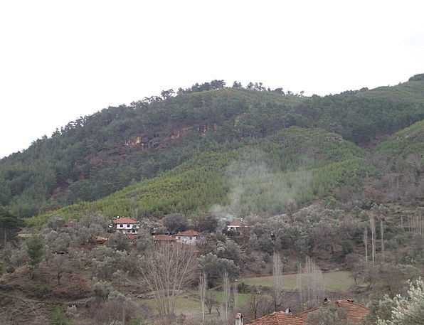 Mugla Landscapes Upland Nature Forest Woodland Hig