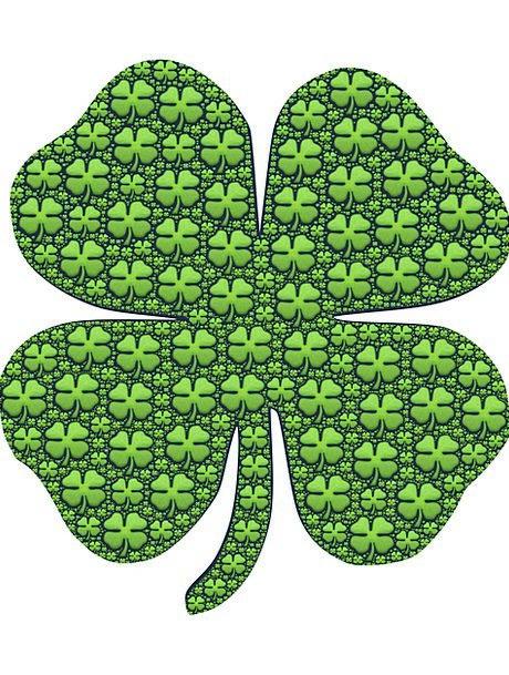 Luck Fluke Good Luck Shamrock Four-Leaf Fortune We