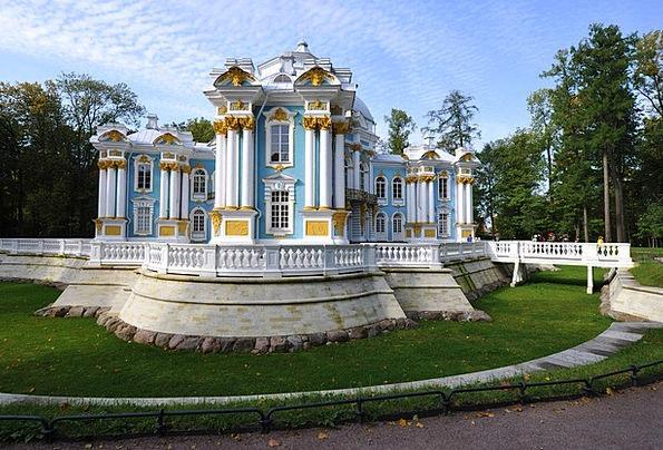 The Palace Ensemble Tsarskoe Selo Buildings Archit