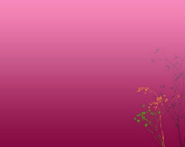 Floral Flowery Landscapes Plants Nature Retro Peri