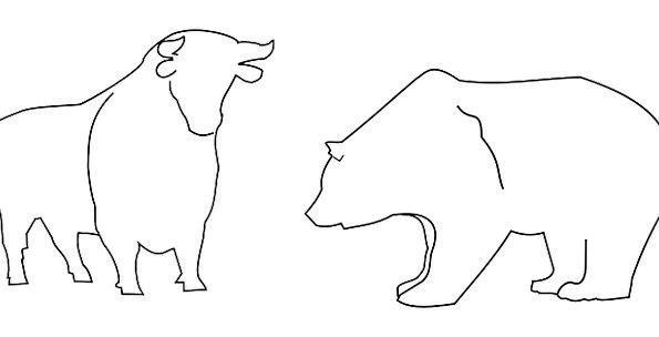 Animals Faunae Decree Stock Standard Bull Free Vec
