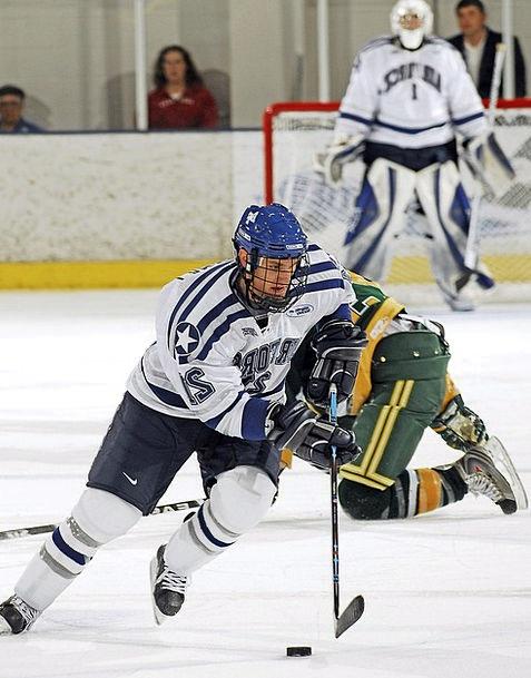 Ice Hockey Companies Pass Permit Players Game Forw