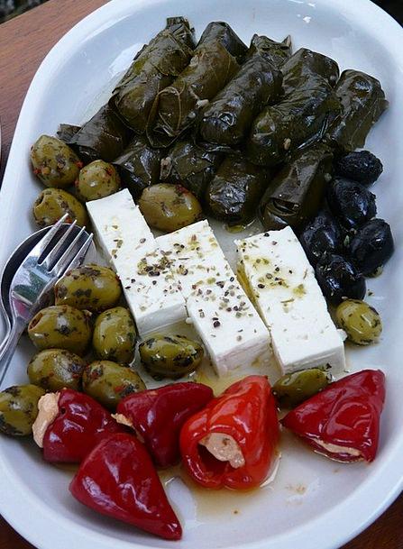 Feta Cheese Rock Salad Buffet Buffet Insert Salad