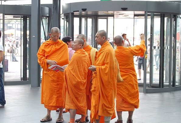 Monk Friar Monks Friars Tibetan Man Gentleman