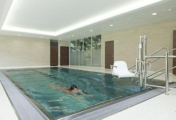 Swim Dip Treatment Swimmer Bather Therapy Swimming